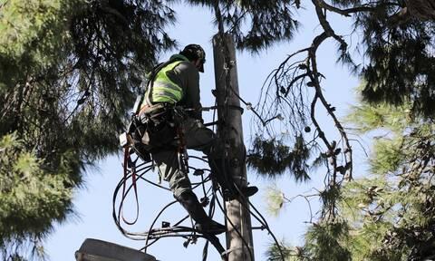 ΔΕΔΔΗΕ: Λιγότερα από 400 νοικοκυριά χωρίς ρεύμα - Σε ποιες περιοχές συνεχίζονται οι εργασίες