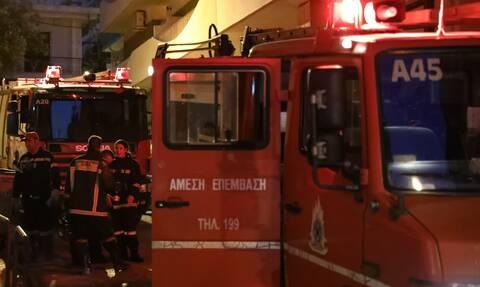 Φωτιά σε διαμέρισμα στο Παγκράτι - Συναγερμός στην Πυροσβεστική