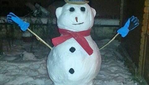 Κρητικός πουλάει χιονάνθρωπο στο διαδίκτυο!