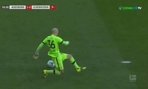 Bundesliga: Απίθανη γκάφα! - Το blooper της χρονιάς από τον τερματοφύλακα της Λεβερκούζεν (video)