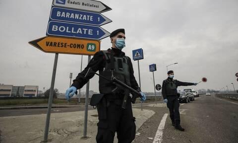 Κορονοϊός στην Ιταλία: Απαγόρευση μετακίνησης από τη μια περιφέρεια στην άλλη