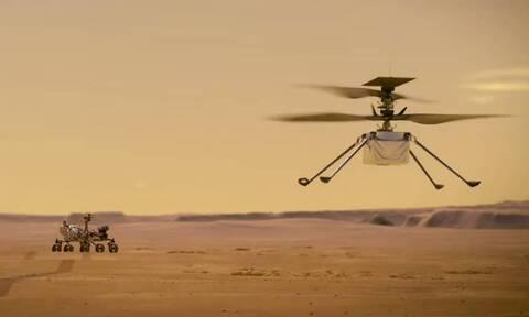 NASA: Το «Perseverance» έστειλε στη Γη τις πρώτες έγχρωμες φωτογραφίες από τον Άρη