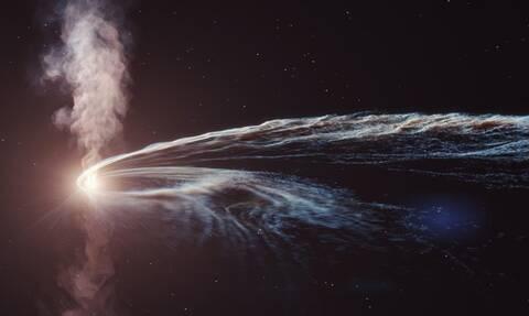 Ανακαλύφθηκε σωματίδιο «φάντασμα» από μία μαύρη τρύπα στον Νότιο Πόλο