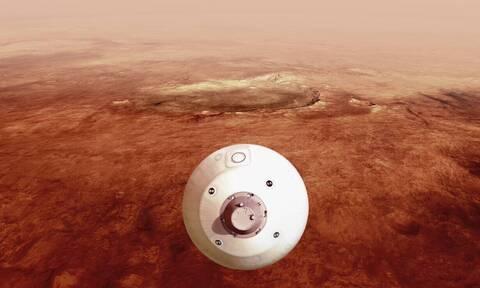 NASA: Εντυπωσιακό βίντεο από τον Άρη - Η ιστορική στιγμή προσεδάφισης του Perseverance
