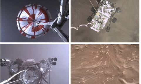 Perseverance: Αυτός είναι ο πρώτος ήχος που «συνέλαβαν» τα μικρόφωνα στον πλανήτη Άρη