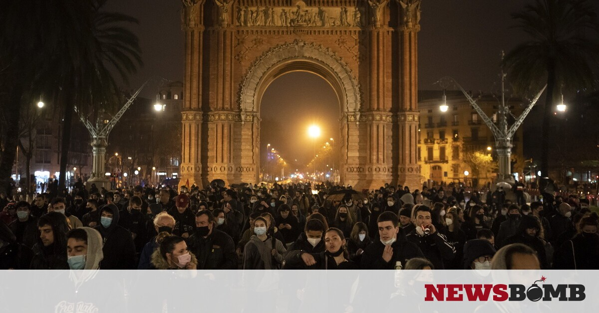 facebookbarcelona protests