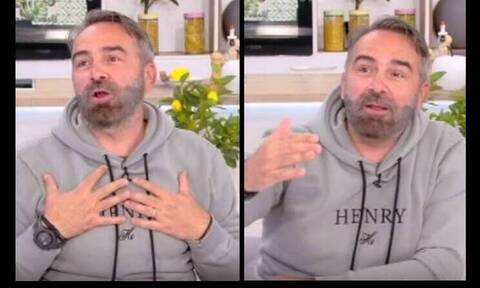 Γρηγόρης Γκουντάρας: Αποκάλυψε τι παρήγγειλε η γυναίκα του χωρίς να τον ρωτήσει - Πανάκριβο