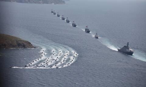 «Πυρπολεί» την ειρήνη η Τουρκία: Βγάζει όλο το Στόλο στο Αιγαίο για την άσκηση «Γαλάζια πατρίδα»