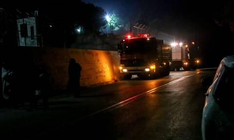 Θήβα: Φωτιά στη δομή προσφύγων - Νεκρός ανασύρθηκε επτάχρονος