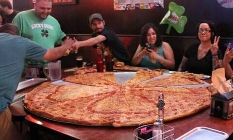 Τρομερό: Σε αυτή τη χώρα τρώνε την περισσότερη πίτσα καθημερινά!
