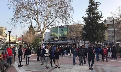 Θεσσαλονίκη: Συγκέντρωση διαμαρτυρίας στον Εύοσμο κατά του αυστηρού lockdown