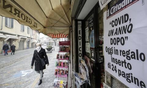 Κορονοϊός Ιταλία: Αυξάνονται τα κρούσματα - Μέτρα και κατά το Πάσχα των Καθολικών