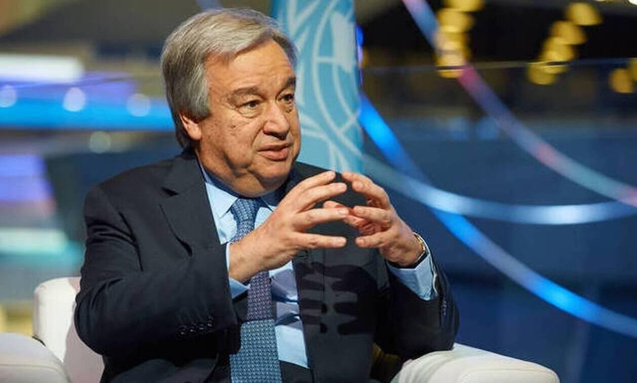 ΟΗΕ: Ανακοινώθηκε η υποψηφιότητα του Γκουτέρες για δεύτερη θητεία στο αξίωμα του Γενικού Γραμματέα