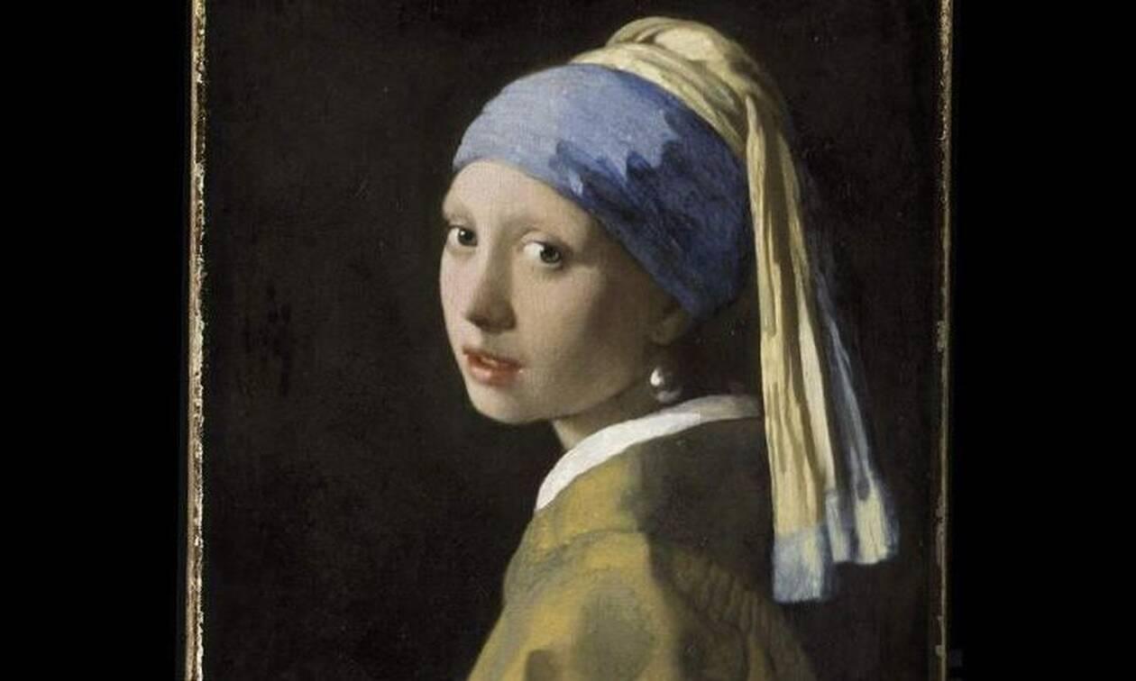 Πανόραμα 10 δισεκατομμυρίων pixel του πίνακα «Το Κορίτσι με το Μαργαριταρένιο Σκουλαρίκι»