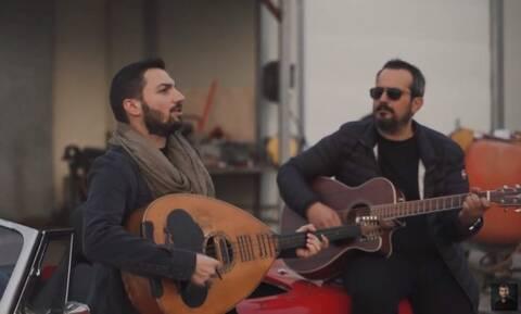 Φανταστικό: Εφτιαξαν ροκ τραγούδι με Κρητική... πινελιά! (vid)