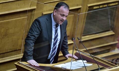 Θετικός στον κορονοϊό διαγνώστηκε ο βουλευτής της ΝΔ, Ιωάννης Παππάς