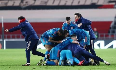 Αϊντχόφεν – Ολυμπιακός 2-1: Με «χρυσό» Χασάν στους «16» του Europa League (videos+photos)