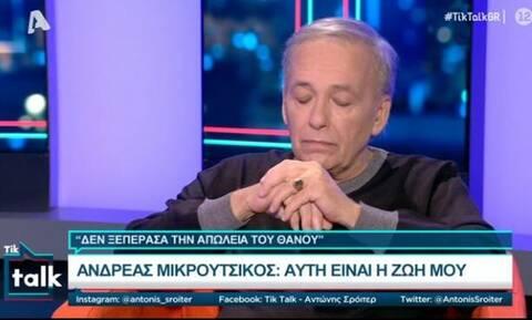 Λύγισε ο Μικρούτσικος - Ο Σρόιτερ ζήτησε να διακόψει την εκπομπή