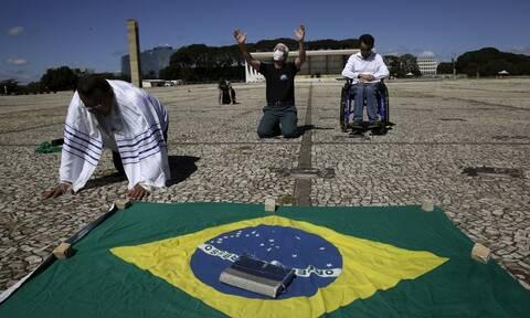Κορονοϊός: Η Βραζιλία αντιμέτωπη με τον μεταλλαγμένο ιό που είναι τρεις φορές πιο μεταδοτικός