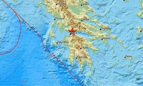 Σεισμός ΤΩΡΑ κοντά στη Ναύπακτο - Αισθητός σε πολλές περιοχές (pics)