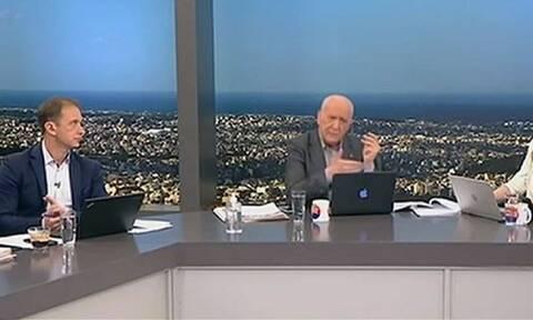 Ο εκνευρισμός του Παπαδάκη on air: Του έκλεισε το τηλέφωνο ο Κούγιας - Δείτε τι συνέβη (vid)