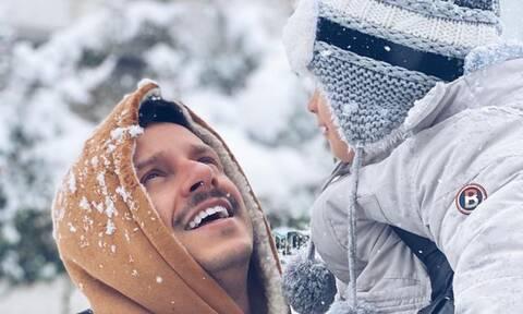 Δημήτρης Μακαλιάς: Η νέα απίθανη φώτο με τον γιο του