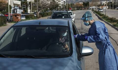 Κορονοϊός: 127 κρούσματα από τα rapid test του ΕΟΔΥ - Στο 1,6% η θετικότητα