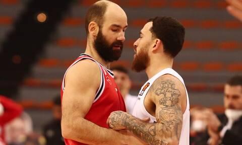 Το... μυστικό της συνομιλίας Σπανούλη-Τζέιμς μετά το Ολυμπιακός-ΤΣΣΚΑ (photo+video)