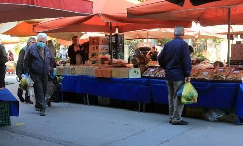 Lockdown: Επαναλειτουργούν οι λαϊκές αγορές τα Σάββατα