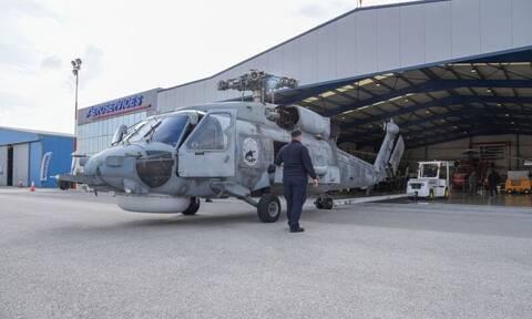 Πολεμικό Ναυτικό: Στις εγκαταστάσεις της Aeroservices το πρώτο ελληνικό ελικόπτερο