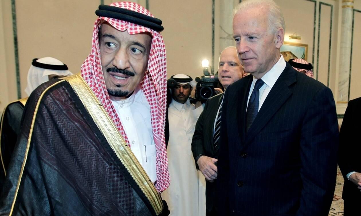 Μπάιντεν προς βασιλιά Σαλμάν:Θα καταστήσουμε το Ριάντ υπόλογο για παραβιάσεις ανθρωπίνων δικαιωμάτων