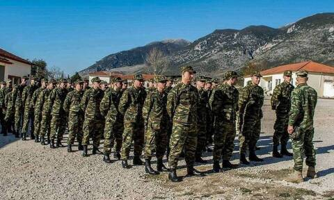 Κατάταξη στρατεύσιμων στη Β' ΕΣΣΟ στο Στρατό Ξηράς