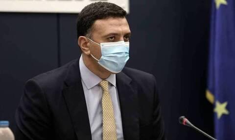 Κικίλιας: Ξεπεράσαμε τους 850.000 εμβολιασμούς - Τρίτη στην Ευρώπη η Ελλάδα