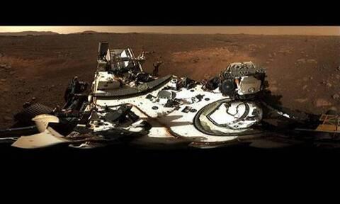 NASA: Δείτε την πρώτη πανοραμική φωτογραφία του Perseverance από τον πλανήτη Άρη