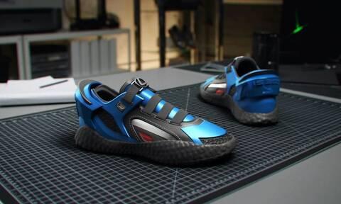 Αυτά τα παπούτσια έχουν σόλα σα λάστιχο αυτοκινήτου!