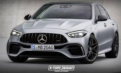 Tετρακύλινδρη, 2.000 κυβικών και με 550 ίππους η νέα Mercedes-AMG C 63