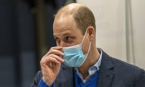 Πρίγκιπας Ούλιαμ: Υποστηρίζουμε με όλη μας την καρδιά τον εμβολιασμό κατά του κορονοϊού