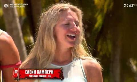 Ελένη Χαμπέρη: Η τελευταία παίκτρια που μπήκε στο Survivor - Εντάχθηκε στην κόκκινη ομάδα