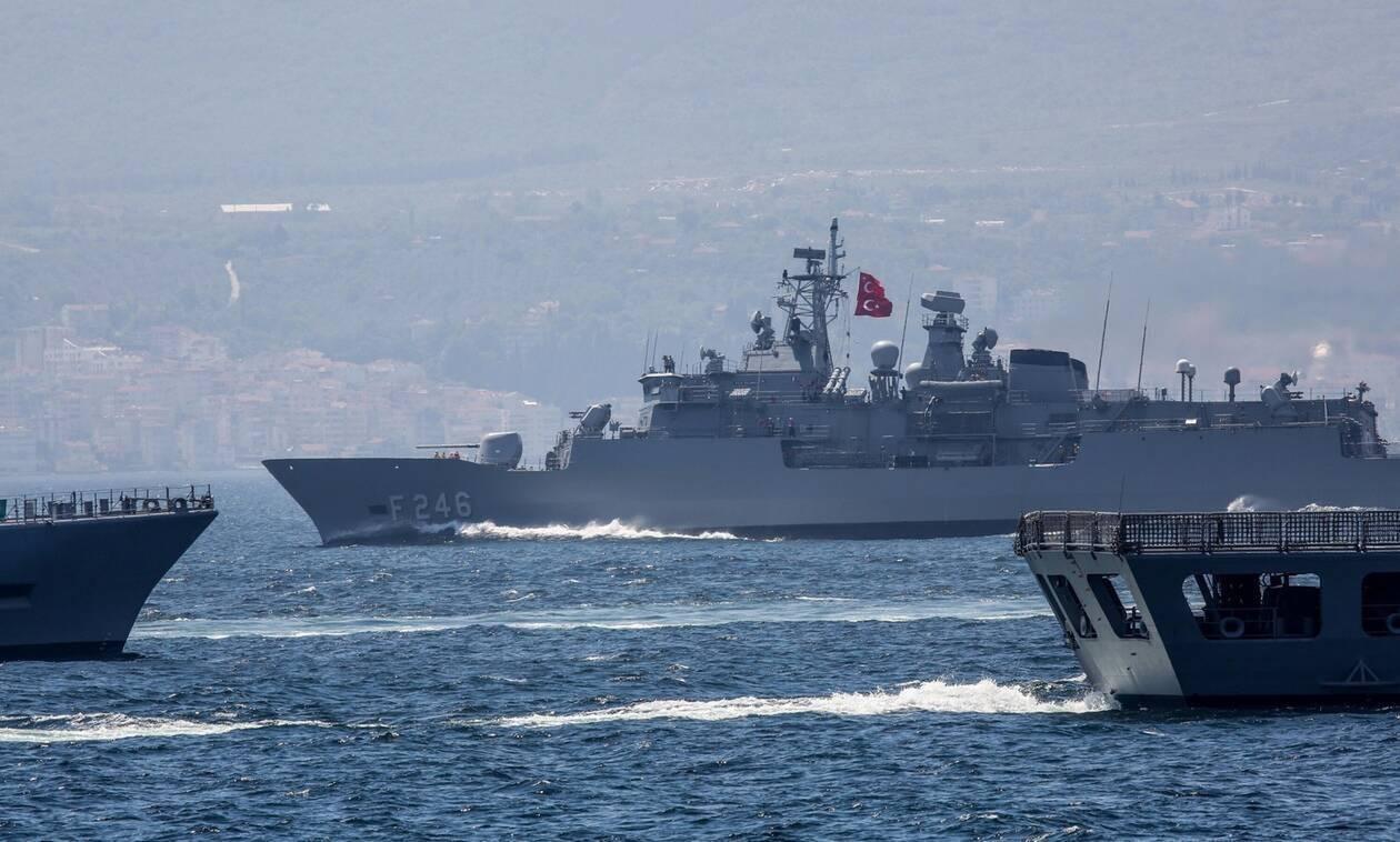 «Τρικυμία» στο Αιγαίο: Βγάζουν 87 πλοία οι Τούρκοι - Τους περιμένουν οι «αόρατοι κυνηγοί»