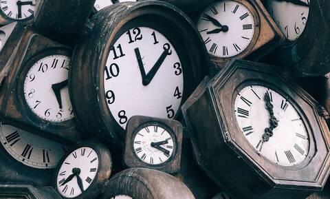 Αλλαγή ώρας 2021 - Θερινή: Πότε θα γυρίσουμε τα ρολόγια μια ώρα μπροστά