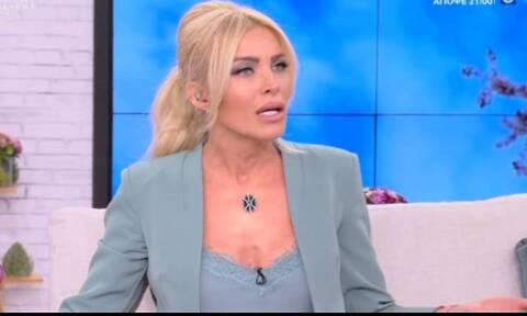 Κατερίνα Καινούργιου: Άγριο ξέσπασμα on air κατά του Αλέξη Κούγια - Δείτε το βίντεο