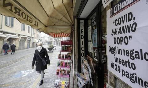 Ιταλία - Κορονοϊός: 13.144 τα νέα κρούσματα του ιού - 246 θάνατοι το τελευταίο 24ωρο