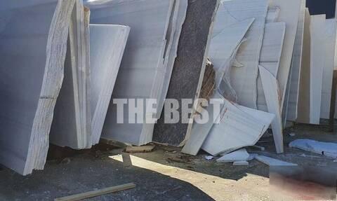 Πάτρα: 53χρονος καταπλακώθηκε από μάρμαρα - Σε πολύ σοβαρή κατάσταση (pics)