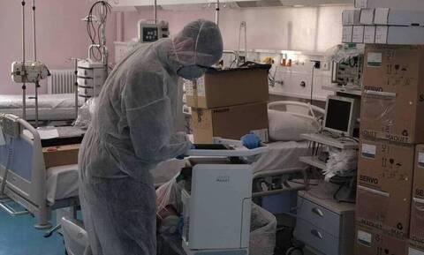 Κορονοϊός - Eυαγγελισμός: Πέντε ασθενείς διασωληνωμένοι σε απλή κλινική γιατί δεν υπάρχει ΜΕΘ