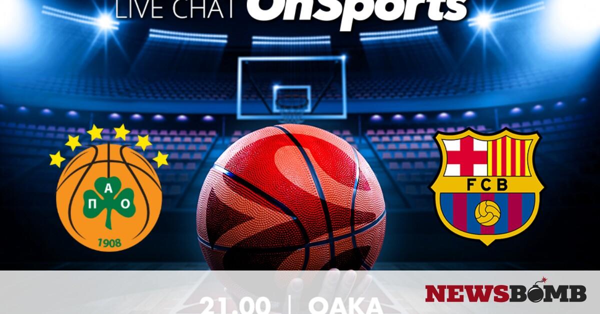 facebookPanathinaikos Barcelona live