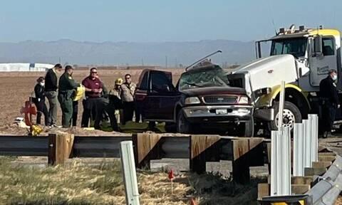 Τραγωδία στις ΗΠΑ: Τουλάχιστον 15 νεκροί σε σύγκρουση ενός φορτηγού με ένα SUV