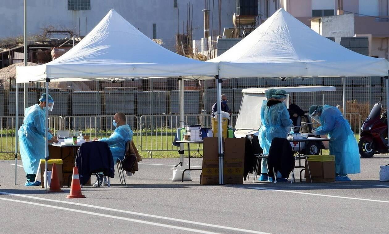 Κορονοϊός στα Χανιά: Διεξαγωγή δωρεάν rapid tests σε πεζούς - Πού και πότε θα πραγματοποιηθούν
