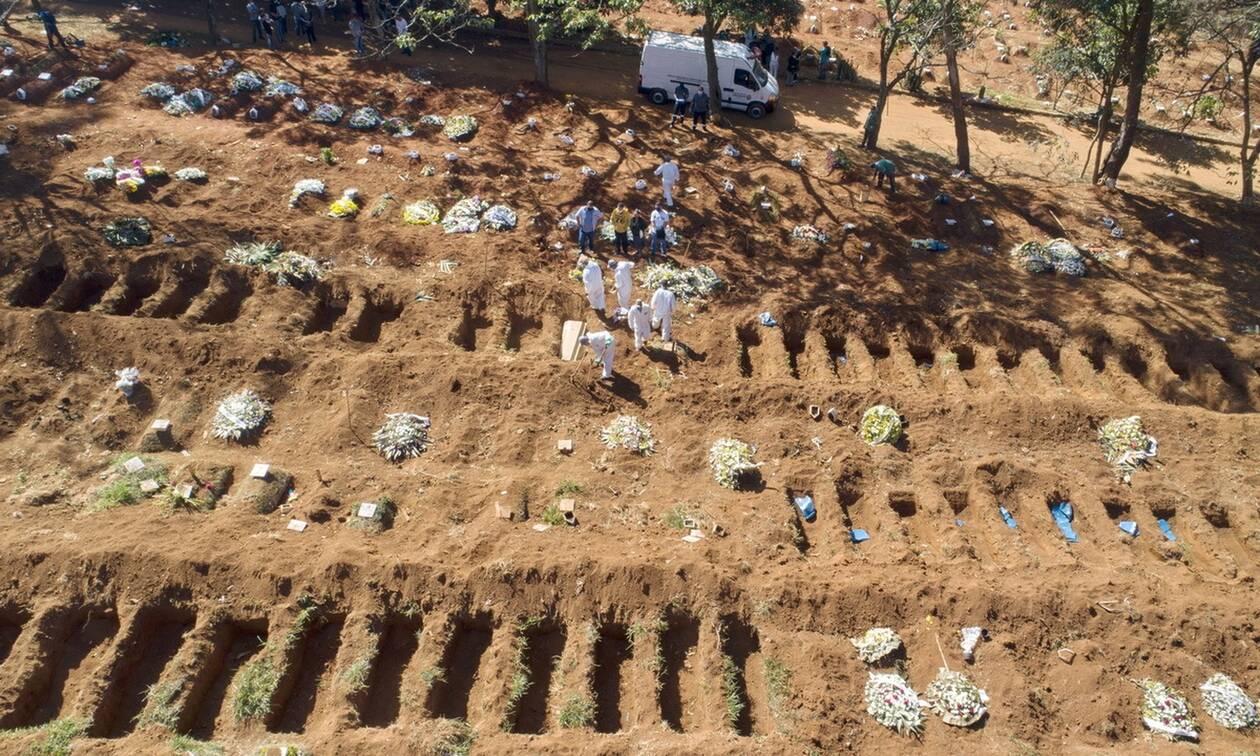 Κορονοϊός: Νέο τραγικό ρεκόρ στη Βραζιλία με 1.641 θανάτους μέσα σε 24 ώρες