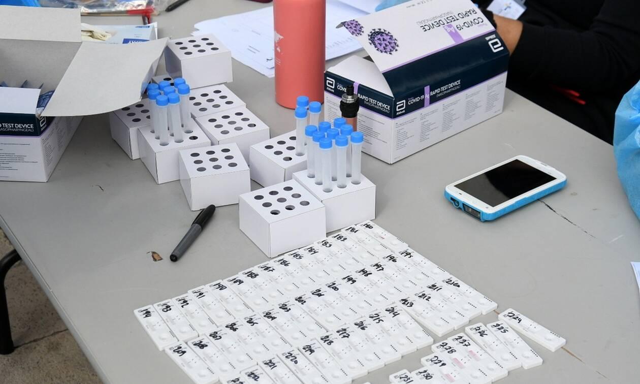 Κορονοϊός στην Κρήτη: Δωρεάν rapid tests την Πέμπτη στο Ρέθυμνο