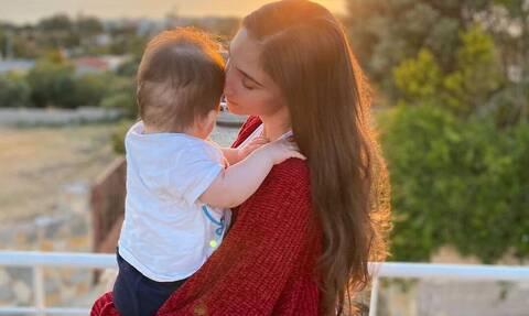 Φωτεινή Αθερίδου: Aπίθανος ο γιος της - Δείτε πόσο μεγάλωσε